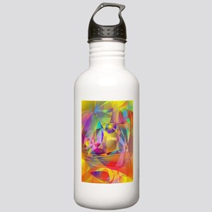 Abstract Banana Water Bottle