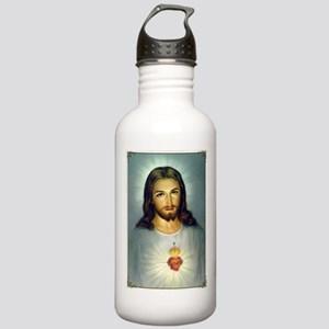 Jesus Sacred Heart Stainless Water Bottle 1.0L