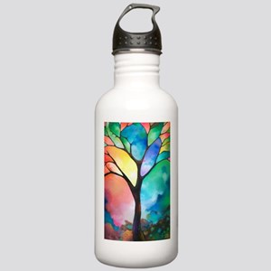 Tree of Light by Sally Stainless Water Bottle 1.0L