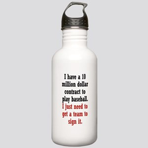Baseball Contract Stainless Water Bottle 1.0L