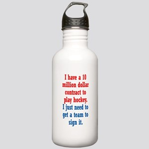 Hockey Contract Stainless Water Bottle 1.0L