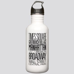 I Love NY Stainless Water Bottle 1.0L