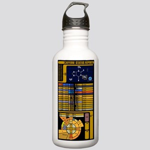 Caffeine Status Report Stainless Water Bottle 1.0L