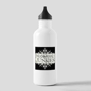 Paranormal-Junkies Logo Stainless Water Bottle 1.0