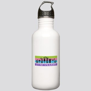 Is It That Time Alread Stainless Water Bottle 1.0L