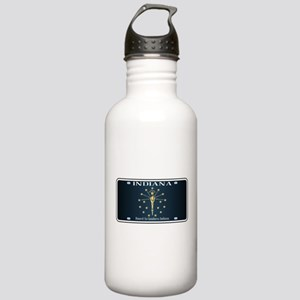 Indiana Flag License P Stainless Water Bottle 1.0L