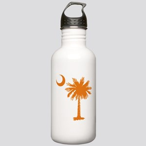SC Palmetto & Crescent (O) Stainless Water Bottle