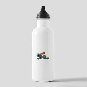 VINTAGE BIPLANE Water Bottle