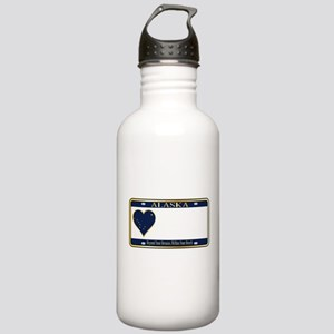 Alaska State License P Stainless Water Bottle 1.0L