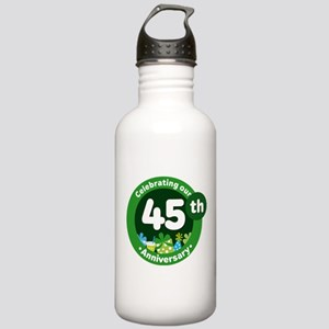 45th Anniversary Celebration Gift Stainless Water