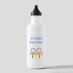 AC Techs Keep it Cool Water Bottle