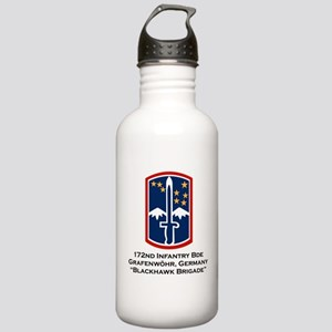 172nd Blackhawk Bde Stainless Water Bottle 1.0L