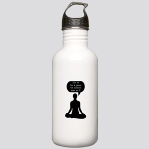 Its All Fun & Games Ti Stainless Water Bottle 1.0L
