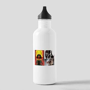 Strong African Women Water Bottle