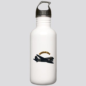 Douglas DC-3 With Text Stainless Water Bottle 1.0L