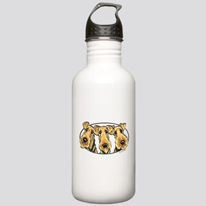 Airedale Terrier Lover Stainless Water Bottle 1.0L
