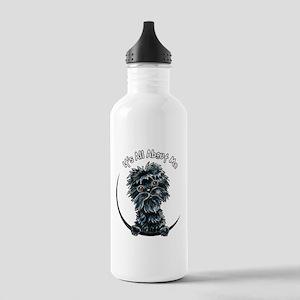 Affenpinscher IAAM Water Bottle
