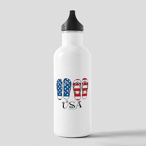 USA Flip Flops Stainless Water Bottle 1.0L