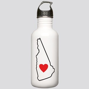 I Love New Hampshire Stainless Water Bottle 1.0L