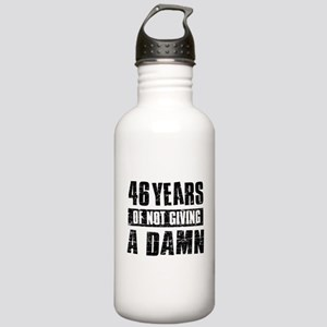 46 years of not giving a damn Stainless Water Bott