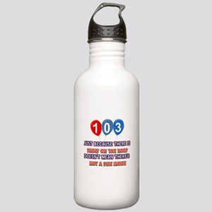 103 year old designs Stainless Water Bottle 1.0L