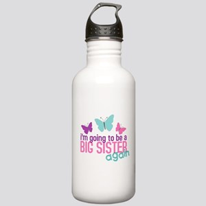 big sister again butterfly Stainless Water Bottle