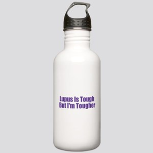 Lupus Is Tough Stainless Water Bottle 1.0L