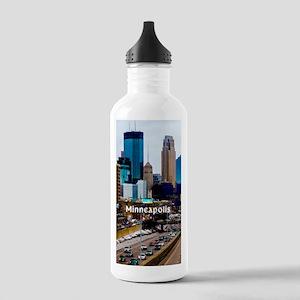 Minneapolis_3.1X5.7_Ga Stainless Water Bottle 1.0L