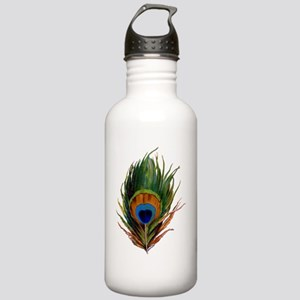 peacock feather  Stainless Water Bottle 1.0L