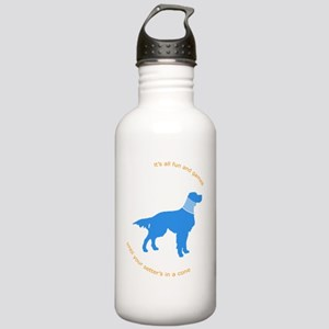 Setter Cone Blue Stainless Water Bottle 1.0L
