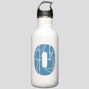 hg-zip_front_cnumber Stainless Water Bottle 1.0L