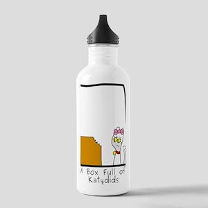 Box Full of Katydids Stainless Water Bottle 1.0L