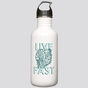 live fast dark Stainless Water Bottle 1.0L