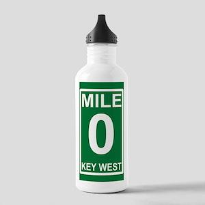 5-milezerorectanglesti Stainless Water Bottle 1.0L