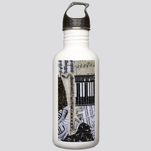 bass-clarinet-ornament Stainless Water Bottle 1.0L