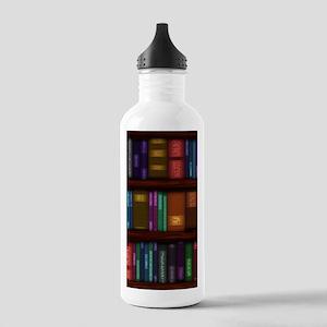 Old Bookshelves Stainless Water Bottle 1.0L