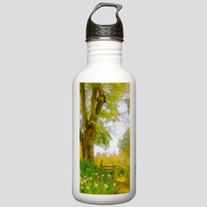Golden Scene with Tree Stainless Water Bottle 1.0L