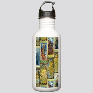 Mucha's Night and Day Water Bottle