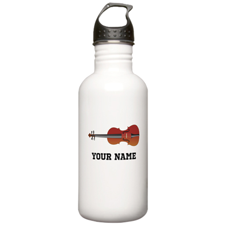 Personalized Violin Stainless Water Bottle 1.0L