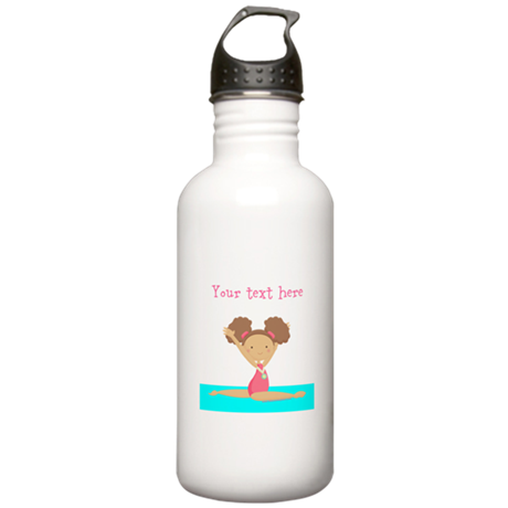 Brown haired gymnast Stainless Water Bottle 1.0L