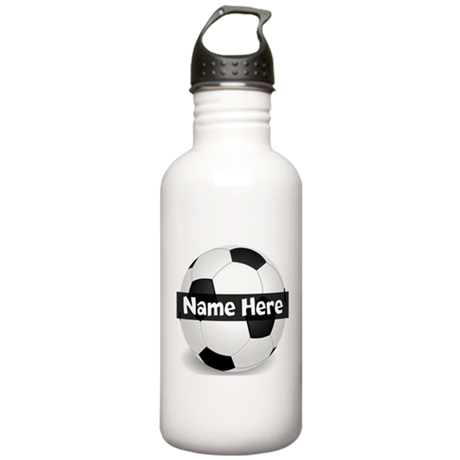 Personalized Soccer Ball Stainless Water Bottle 1.