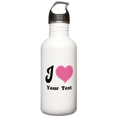 Personalized Love Heart Stainless Water Bottle 1.0