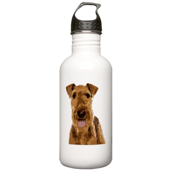 Vector Art Airedale Terrier