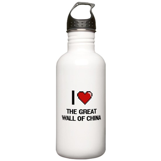I love The Great Wall Of China digital design