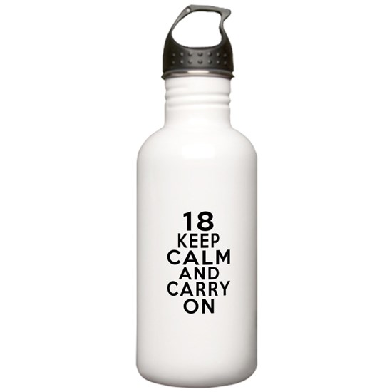 18 Keep Calm And Carry On Birthday