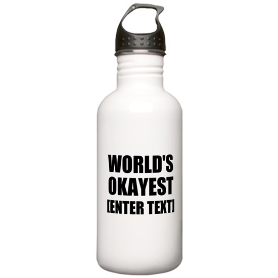 World's Okayest Personalize It!