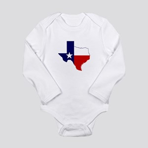 Great Texas Long Sleeve Infant Bodysuit