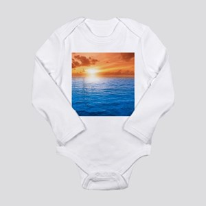 Ocean Sunset Body Suit