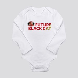 Future Black Cat SAFC Long Sleeve Infant Bodysuit