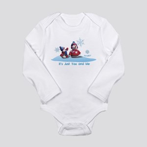 It's Just You and Me Long Sleeve Infant Bodysuit